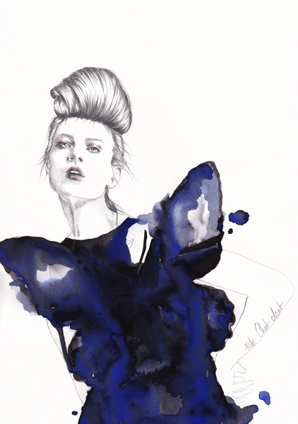 illustration-mllechatchat-butterfly-b-2013